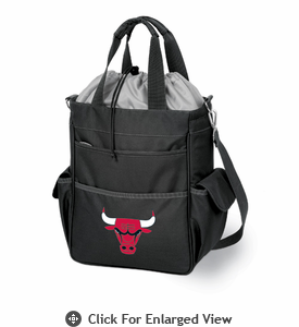 Picnic Time NBA - Black Activo Chicago Bulls