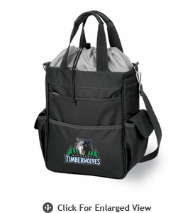Picnic Time NBA - Black Activo Minnesota Timberwolves