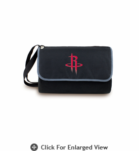 Picnic Time NBA - Black Blanket Tote Houston Rockets