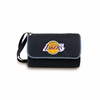 Picnic Time NBA - Black Blanket Tote Los Angeles Lakers