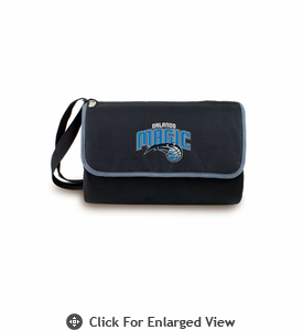 Picnic Time NBA - Black Blanket Tote Orlando Magic