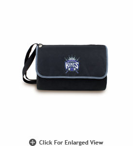 Picnic Time NBA - Black Blanket Tote Sacramento Kings