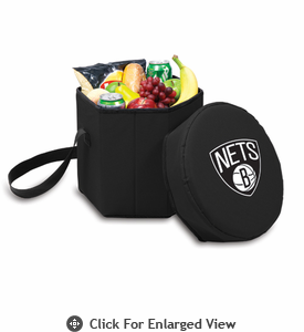 Picnic Time NBA - Black Bongo Cooler Brooklyn Nets