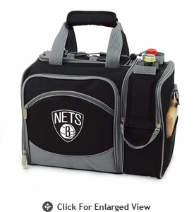 Picnic Time NBA - Black Malibu Brooklyn Nets
