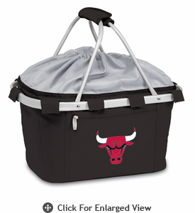 Picnic Time NBA - Black Metro Basket Chicago Bulls