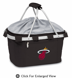 Picnic Time NBA - Black Metro Basket Miami Heat