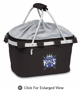 Picnic Time NBA - Black Metro Basket Sacramento Kings