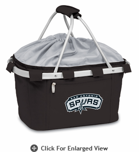 Picnic Time NBA - Black Metro Basket San Antonio Spurs