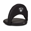 Picnic Time NBA - Black Oniva Seat Brooklyn Nets