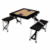 Picnic Time NBA - Black Picnic Table Sport Brooklyn Nets