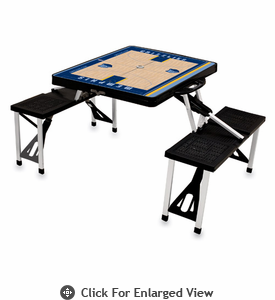 Picnic Time NBA - Black Picnic Table Sport Memphis Grizzlies