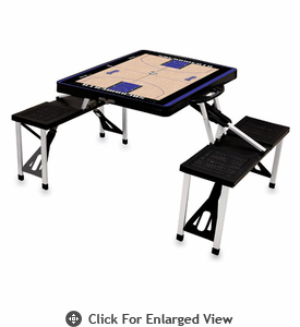 Picnic Time NBA - Black Picnic Table Sport Sacramento Kings