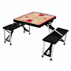 Picnic Time NBA - Black Picnic Table Sport Toronto Raptors
