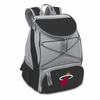 Picnic Time NBA - Black PTX Backpack Cooler Miami Heat