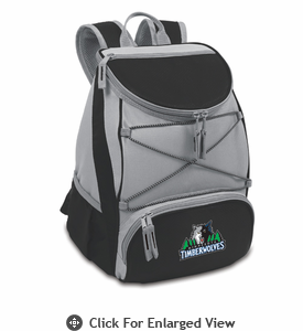 Picnic Time NBA - Black PTX Backpack Cooler Minnesota Timberwolves Out of Stock until October 2013