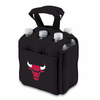 Picnic Time NBA - Black Six Pack Carrier Chicago Bulls