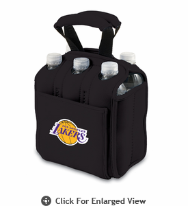 Picnic Time NBA - Black Six Pack Carrier Los Angeles Lakers