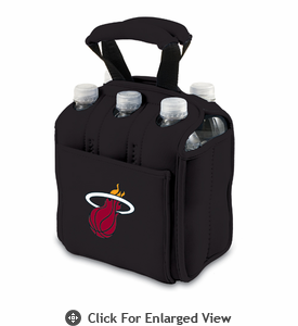Picnic Time NBA - Black Six Pack Carrier Miami Heat