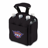 Picnic Time NBA - Black Six Pack Carrier Phoenix Suns