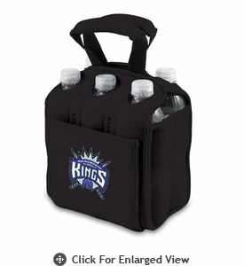 Picnic Time NBA - Black Six Pack Carrier Sacramento Kings