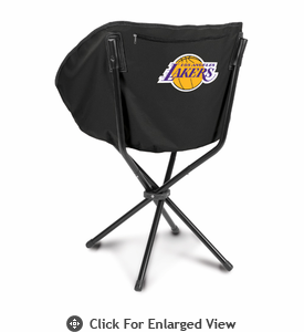 Picnic Time NBA - Black Sling Chair Los Angeles Lakers