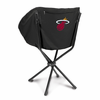 Picnic Time NBA - Black Sling Chair Miami Heat