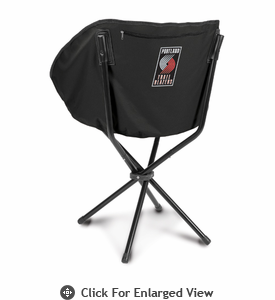 Picnic Time NBA - Black Sling Chair Portland Trailblazers