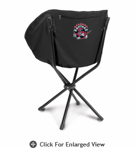 Picnic Time NBA - Black Sling Chair Toronto Raptors