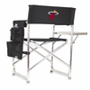 Picnic Time NBA - Black Sports Chair Miami Heat