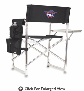 Picnic Time NBA - Black Sports Chair Phoenix Suns