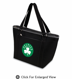 Picnic Time NBA - Black Topanga Cooler Tote Boston Celtics