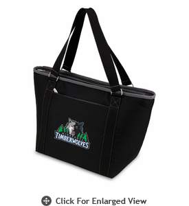 Picnic Time NBA - Black Topanga Cooler Tote Minnesota Timberwolves