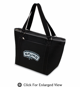 Picnic Time NBA - Black Topanga Cooler Tote San Antonio Spurs