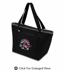 Picnic Time NBA - Black Topanga Cooler Tote Toronto Raptors