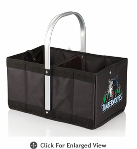 Picnic Time NBA - Black Urban Basket Minnesota Timberwolves