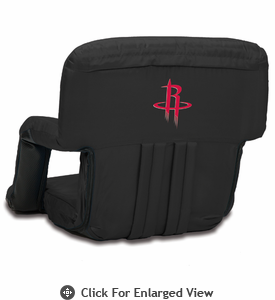Picnic Time NBA - Black Ventura Seat Houston Rockets