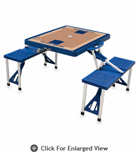 Picnic Time NBA - Blue Picnic Table Sport Indiana Pacers