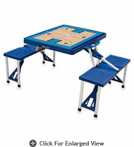 Picnic Time NBA - Blue Picnic Table Sport New Orleans Hornets