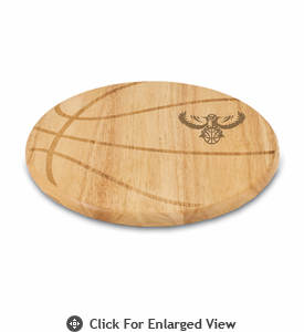 Picnic Time NBA - Free Throw Cutting Board Atlanta Hawks