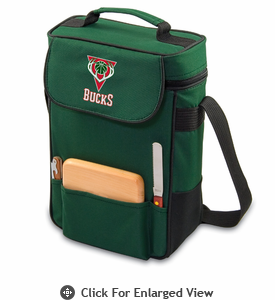 Picnic Time NBA - Hunter Green Duet Milwaukee Bucks