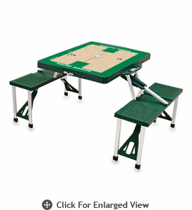 Picnic Time NBA - Hunter Green Picnic Table Sport Boston Celtics