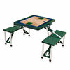 Picnic Time NBA - Hunter Green Picnic Table Sport Utah Jazz