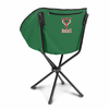 Picnic Time NBA - Hunter Green Sling Chair Milwaukee Bucks