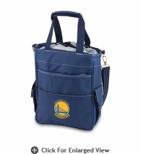 Picnic Time NBA - Navy Blue Activo Golden State Warriors