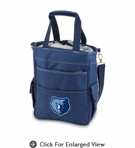 Picnic Time NBA - Navy Blue Activo Memphis Grizzlies