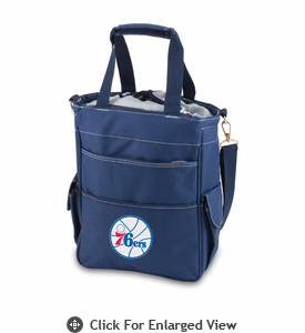 Picnic Time NBA - Navy Blue Activo Philadelphia 76ers