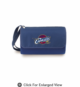 Picnic Time NBA - Navy Blue Blanket Tote Cleveland Cavaliers