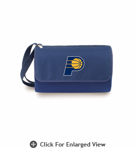 Picnic Time NBA - Navy Blue Blanket Tote Indiana Pacers