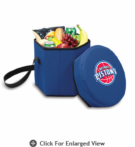 Picnic Time NBA - Navy Blue Bongo Cooler Detroit Pistons