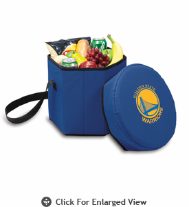 Picnic Time NBA - Navy Blue Bongo Cooler Golden State Warriors